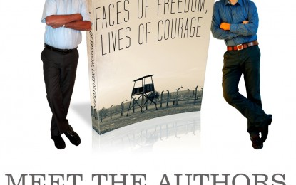 Faces of Freedom, Lives of Courage new book release poster
